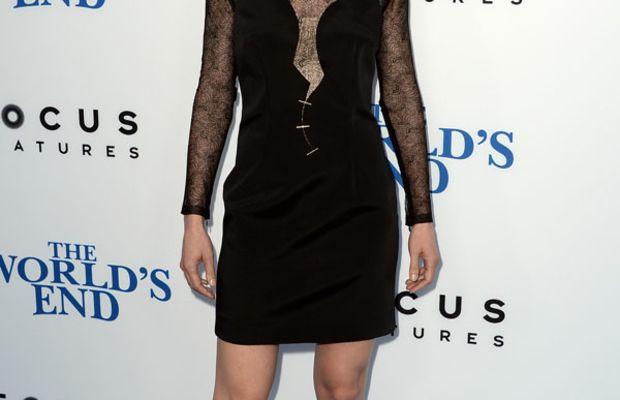 Rosamund Pike - The World's End premiere, LA, August 2013 (dress)