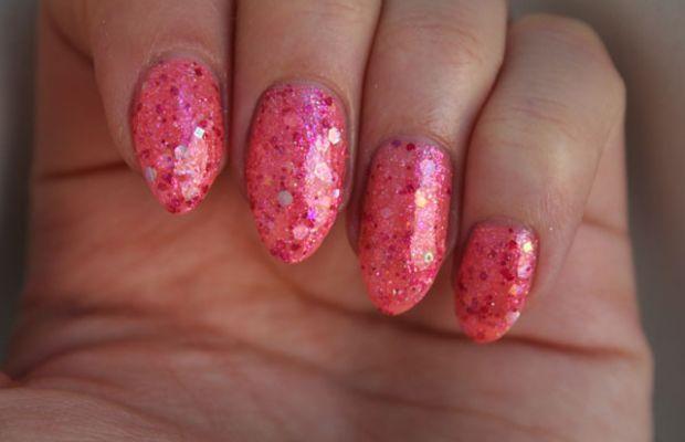 Rainbow Honey Nail Polish in Pink Cloud