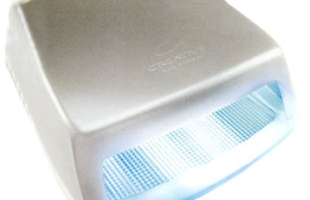 Shellac-UV-light