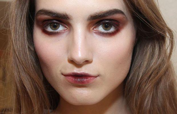 Oscar de la Renta - Fall 2013 makeup
