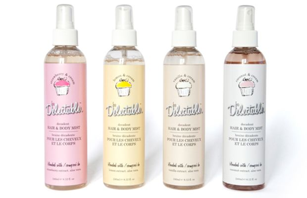 Cake Beauty Be Delectable Hair and Body Mists