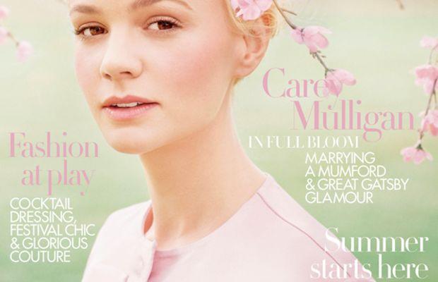 Carey Mulligan - Harper's Bazaar UK cover, June 2013
