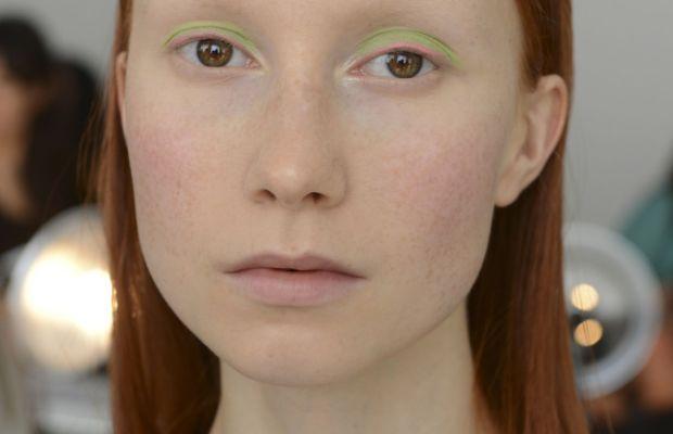 Delpozo Spring 2015 makeup