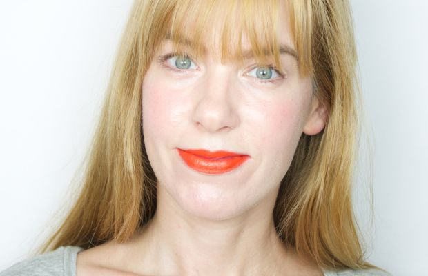Marc Jacobs Kiss Pop in Crush 610 (on lips)