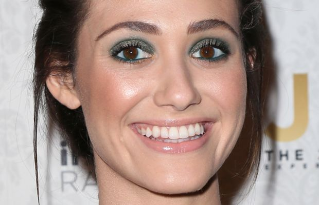 Emmy Rossum - Justin Timberlake album release party March 2013
