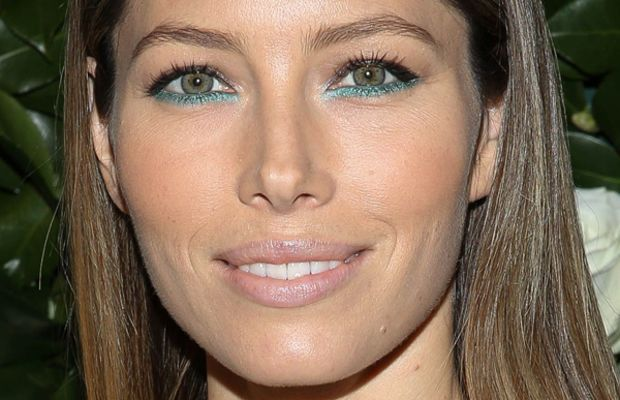 Jessica Biel makeup, Museum of Modern Art Tilda Swinton tribute, 2013 (1)