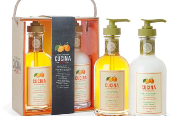 Fruits & Passion Cucina Hand Care Duo in Clementine and Candied Ginger