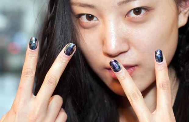 Chloe Comme Parris - Fall 2013 nails