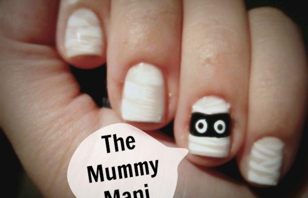 Mummy manicure