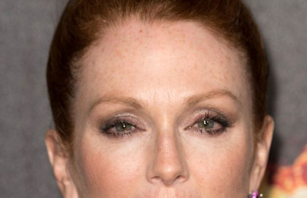Julianne Moore, The Hunger Games Mockingjay Part 1 party, Cannes 2014