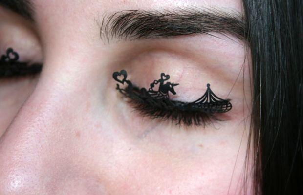 Paperself eyelashes on eyes (4)
