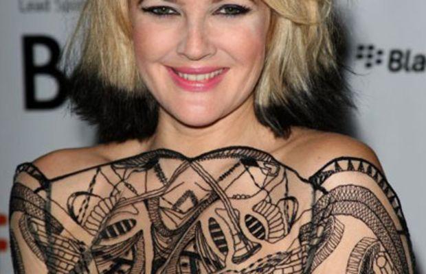 Drew-Barrymore-dip-dyed-hair-2009