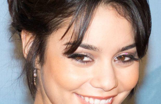 Vanessa Hudgens diamond face bangs