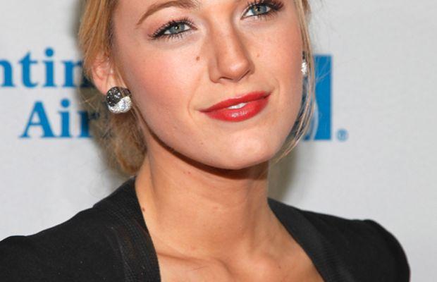 Blake Lively - chest acne