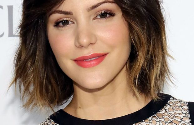 Katharine McPhee - Clinique Dramatically Different party 2013