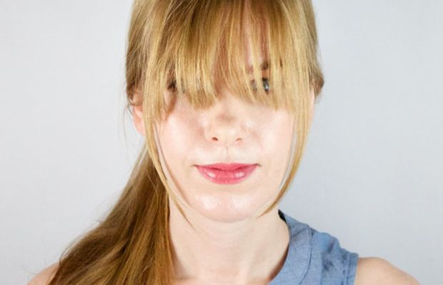How to style long bangs (2)