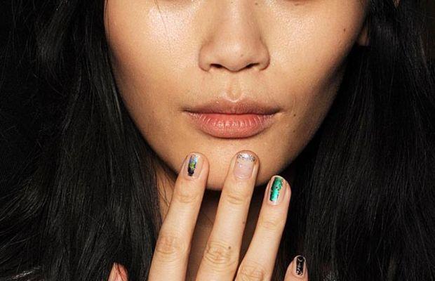 ICB by Prabal Gurung Spring 2014 nails