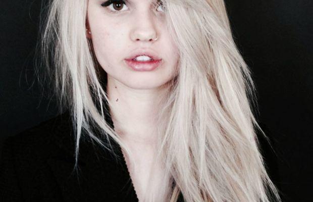 Debby Ryan platinum blonde hair