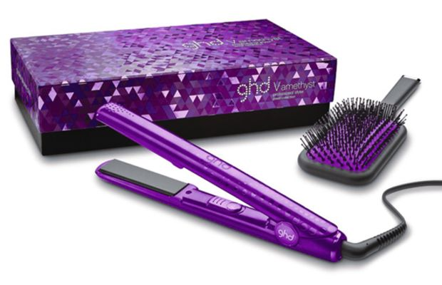 ghd Jewel Collection 1 Inch Gold Professional Styler in Amethyst