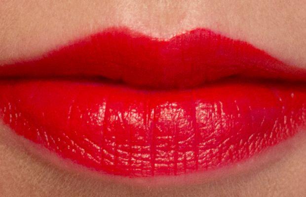 Joe Fresh Long Wear Liquid Lipstick in Rouge (swatch)