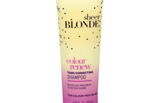 John Frieda Sheer Blonde Colour Renew Tone-Correcting Shampoo