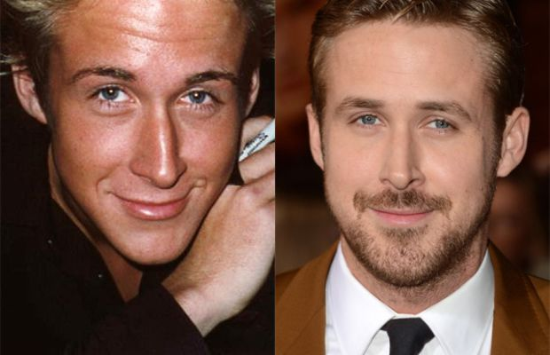 Ryan Gosling before and after