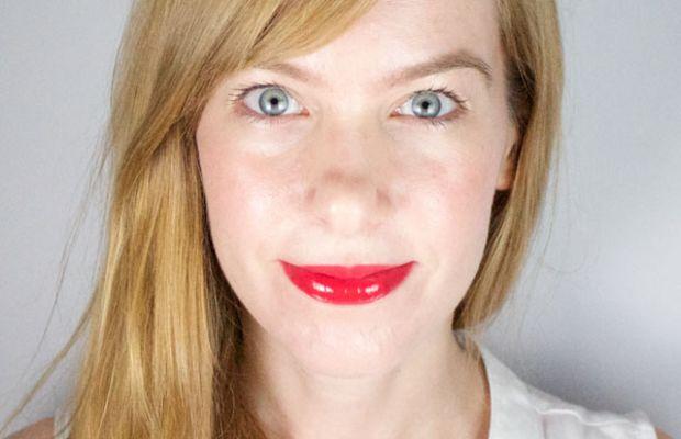 Dior Addict Fluid Stick in 754 Pandore (on lips)