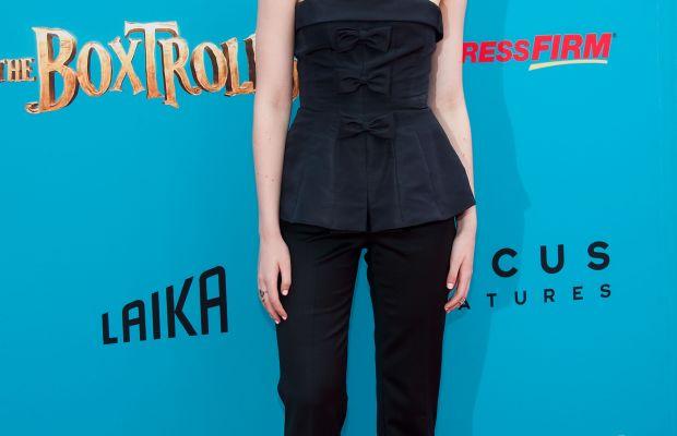 Elle Fanning, The Boxtrolls premiere, 2014
