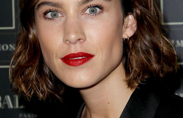 Alexa Chung, Balmain x H&M collection launch, 2015