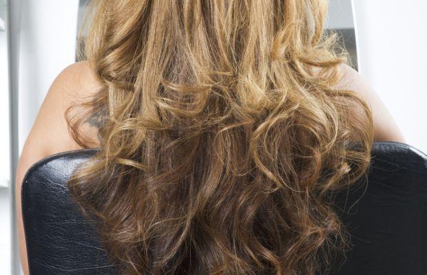 V-shaped long haircut