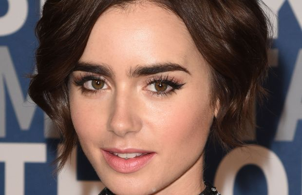 Lily Collins, Breakthrough Prize 2016 Ceremony, 2015