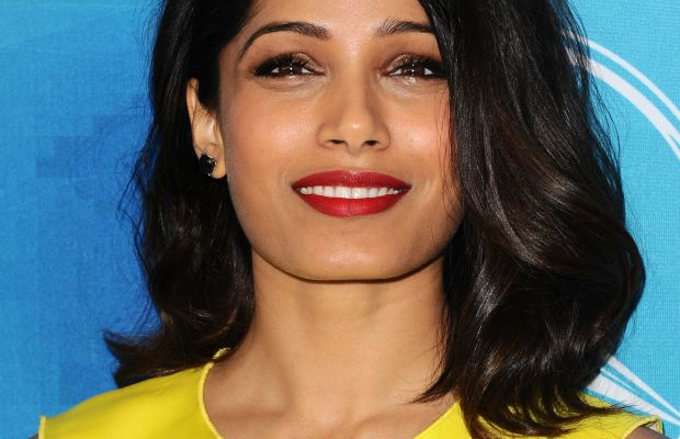 Freida Pinto, WWD and Variety's Stylemakers Event, 2015