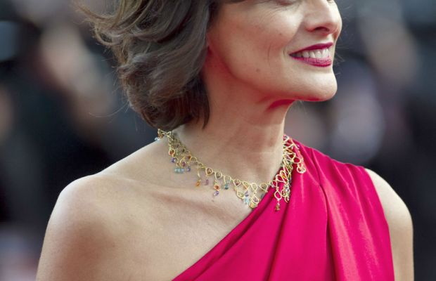 Ines de La Fressange, Cannes 2014