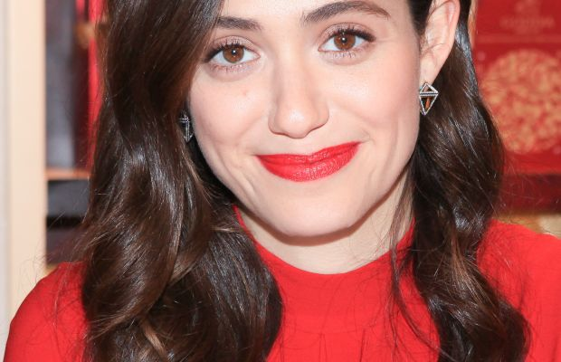Emmy Rossum, Godiva's Hot Cocoa for a Cause event, 2015