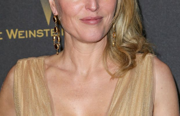 Gillian Anderson, InStyle and Warner Bros. Golden Globes After-Party, 2016