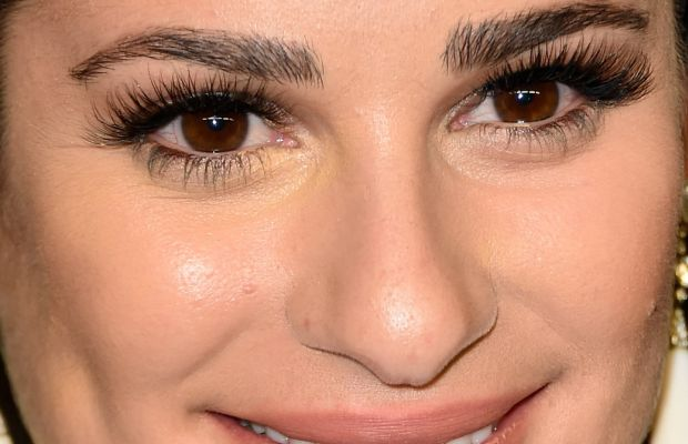 Lea Michele, InStyle and Warner Bros. Golden Globes After-Party, 2016 (close-up)