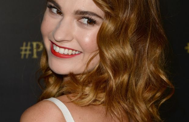 Lily James, Pride and Prejudice and Zombies premiere, 2016