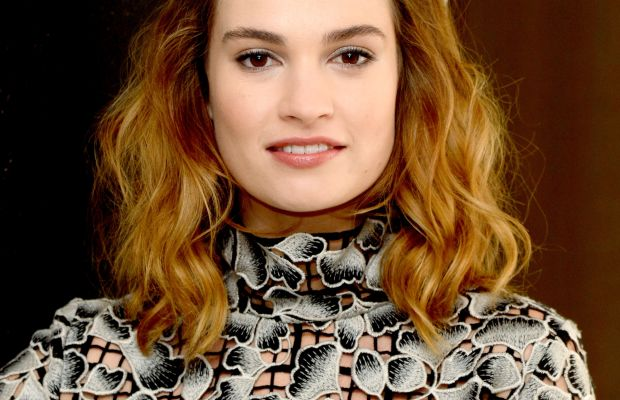 Lily James, Pride and Prejudice and Zombies photocall, 2016