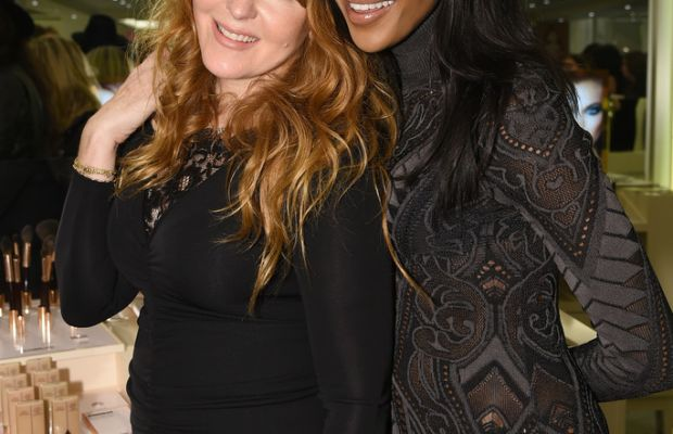 Charlotte Tilbury and Naomi Campbell, Charlotte Tilbury Arrives in America event, 2014