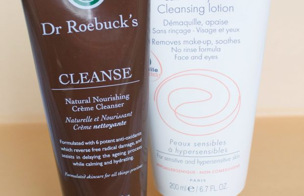 Dry and sensitive skin cleansers