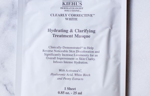 Kiehl's Clearly Corrective White Hydrating & Clarifying Treatment Masque
