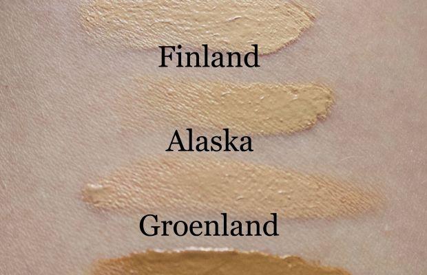 NARS Velvet Matte Skin Tint (swatches)