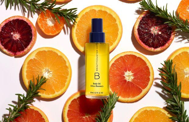 Beautycounter Body Oil Rosemary Citrus
