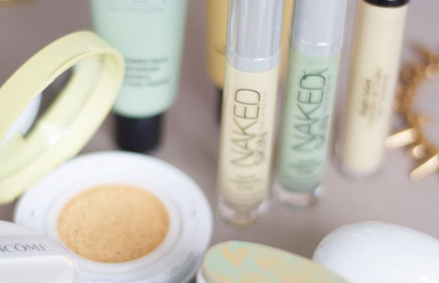 How to correct redness