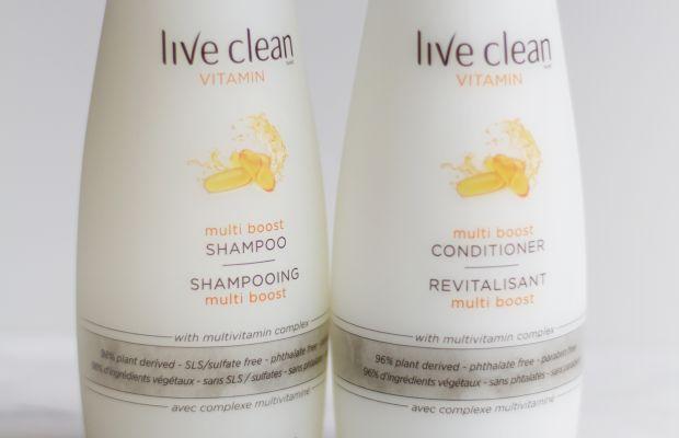 Live Clean Vitamin Multi Boost Shampoo and Conditioner