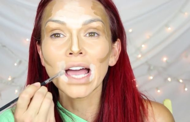 Kandee Johnson contouring tutorial