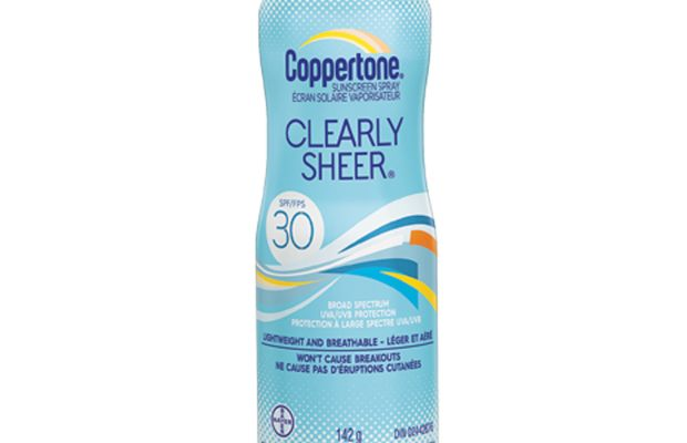 Coppertone Clearly Sheer Sunscreen Spray SPF 30