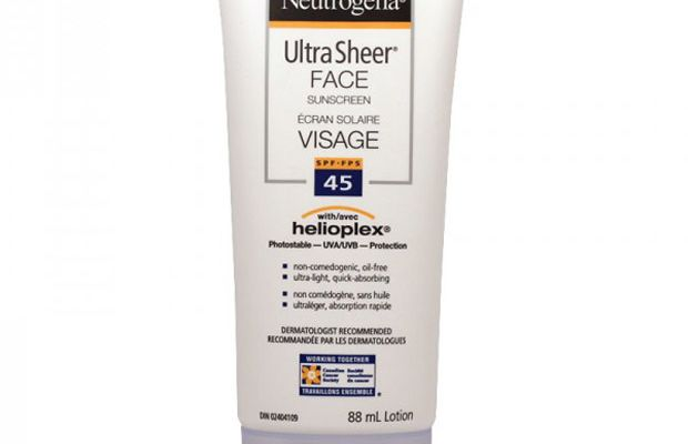 Neutrogena Ultra Sheer Face