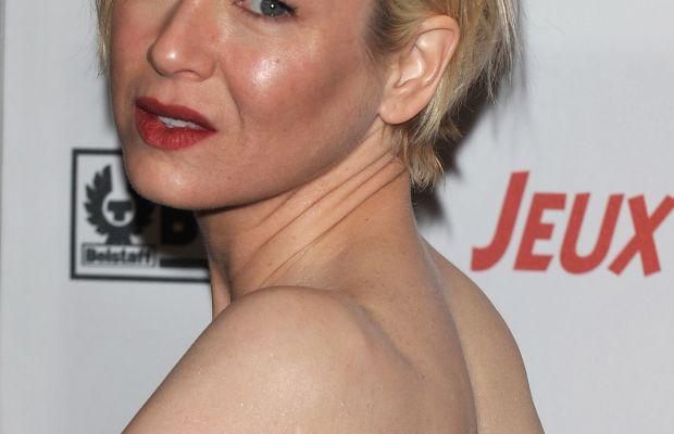 Face darker than body - Renee Zellweger