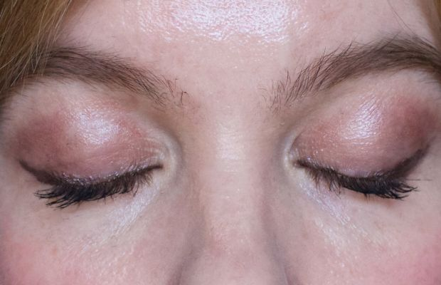 Lush Cream Eyeshadow in Sophisticated (on lids)